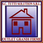 TUTTI SOLUTION - OUTLET GRANDI FIRME - LOGO 2013